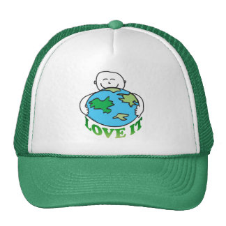 Love the Earth Tees and Gifts Mesh Hats