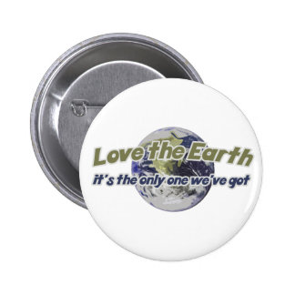 Love the Earth Think Green Pins