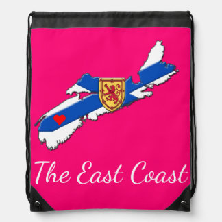 Love The East Coast Heart N.S. bag pink