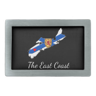 Love The East Coast Heart N.S. belt buckle blue
