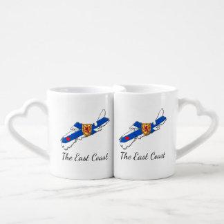 Love The East Coast Heart N.S. lovers mug