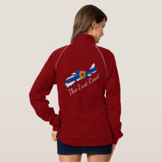 Love The East Coast  Heart Nova Scotia  jacket