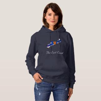 Love The East Coast  Heart Nova Scotia sweater