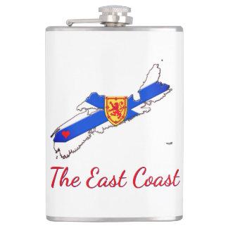 Love The East Coast Nova Scotia drink flask