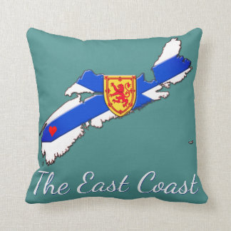 Love The East Coast Nova Scotia pillow sea foam
