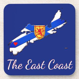 Love The East Coast Nova Scotia  set of coasters