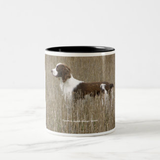 Love the Field Bred English Springer Spaniel? Two-Tone Coffee Mug