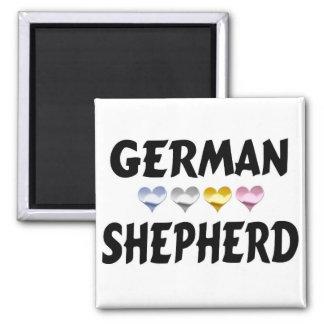 Love the German Shepherd Magnet