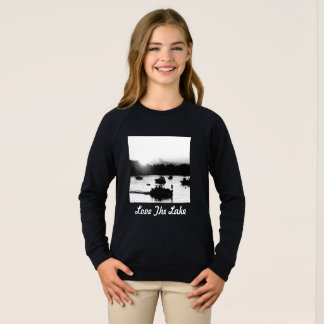 """Love the Lake"" Kid's Long T-Shirt"