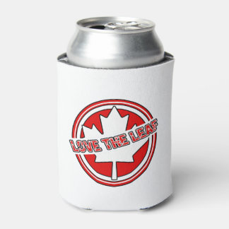 Love The Leaf Canada Day Beverage Can Cooler