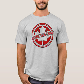 Love The Leaf Canada Day T-Shirt