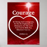 Love The Light Of Courage Biblical Verse-Cust.