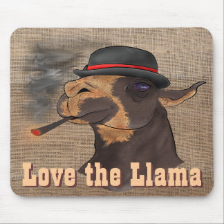 Love the Llama - Mousepad