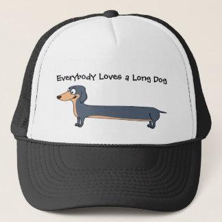 Love the Long Dog - Dachshund Trucker Hat
