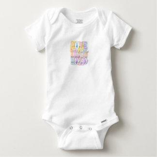 Love The Lord-Luke 10:27 baby Baby Onesie