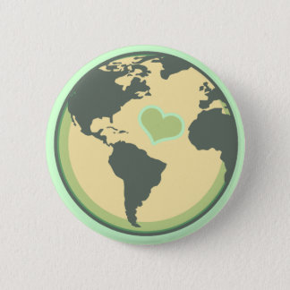 Love the Planet Earth Day 6 Cm Round Badge