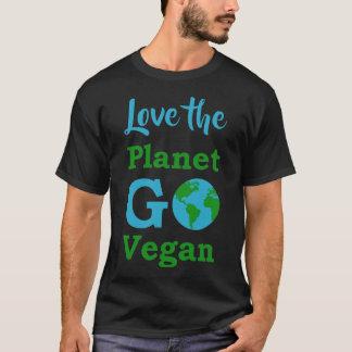 Love the Planet Go Vegan Pride T-Shirt