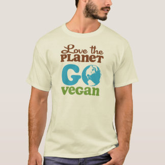 Love the Planet Go Vegan T-Shirt