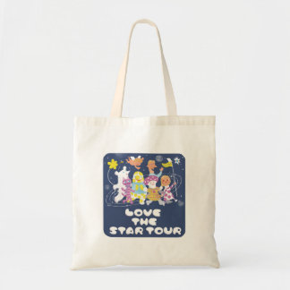 LOVE THE STAR TOUR TOTE BAG