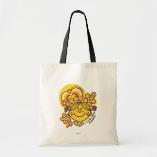 Love The Sunshine   Flowers & Color Budget Tote Bag