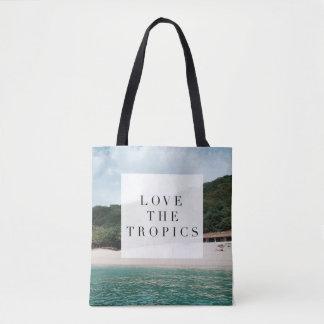Love the Tropics Tote Bag