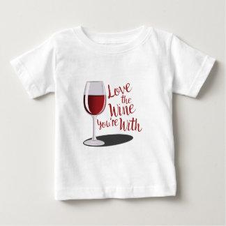 Love The Wine Baby T-Shirt