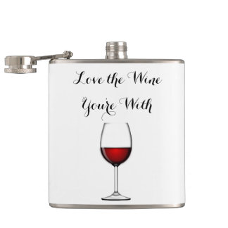 Love the Wine You're With Flask