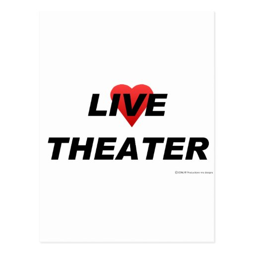 Love Theater Postcard