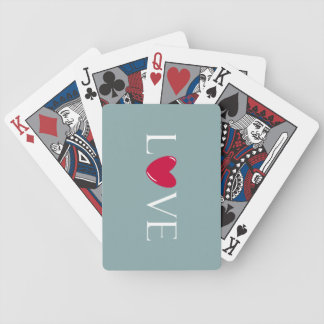 Love Themed Playing Cards