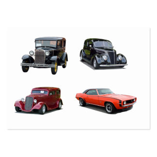 Love Those Old Classic Cars Pack Of Chubby Business Cards