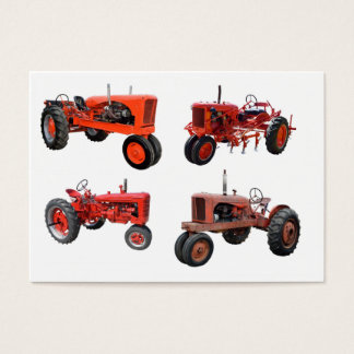 Love Those Old Red Tractors