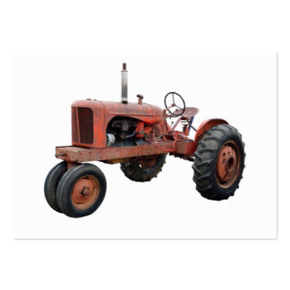 Love Those Old Rusty Tractors Business Card Template