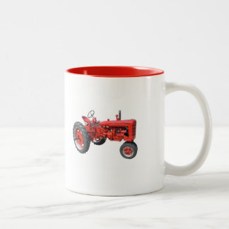 Love Those Old Tractors Two-Tone Coffee Mug
