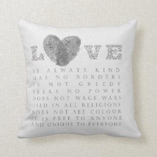 Love Throw Cushions