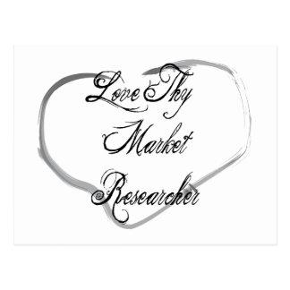 Love Thy Market Researcher Postcard