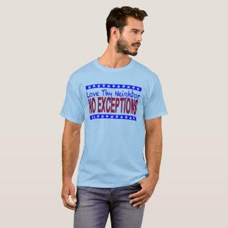 """Love Thy Neighbor"" light-colored T-Shirt"