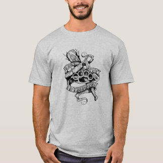 Love Thy Neighbour (tattoo design) T-Shirt