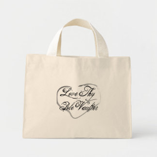 Love Thy Pole Vaulter Mini Tote Bag