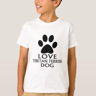 LOVE TIBETAN TERRIERDOG DESIGNS T-Shirt