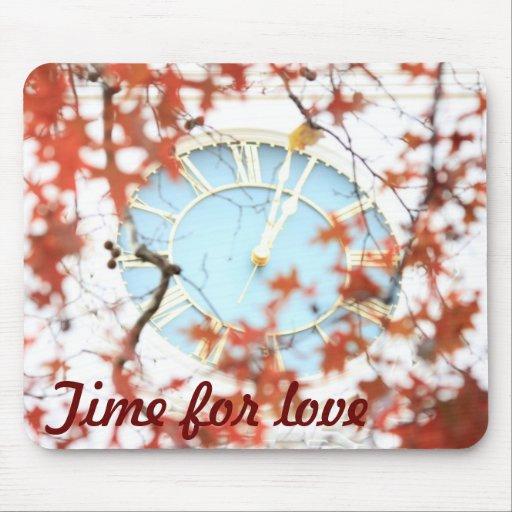 love time reminder mousepad