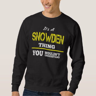 Love To Be SNOWDEN Tshirt