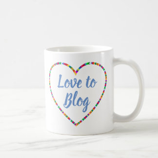 Love to Blog Mug