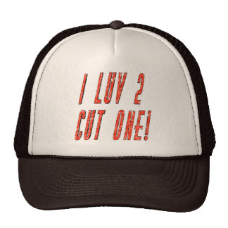 Love To Cut One T-shirts and Gifts Cap