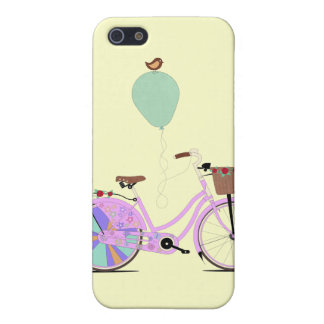 Love to Cycle on my Pink Bike by Andy Scullion iPhone 5/5S Cover