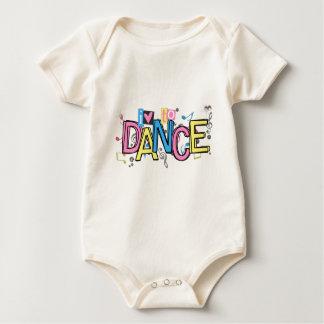Love to Dance Baby Bodysuit