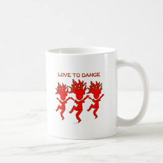 Love To Dance Coffee Mug