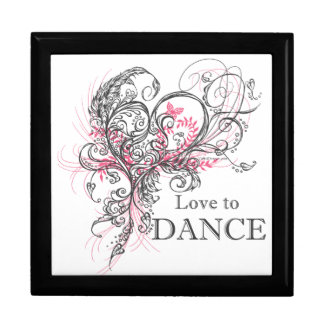 Love to Dance (Grey) Gift Box