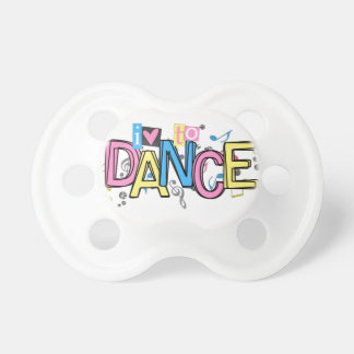 Love to Dance Pacifiers