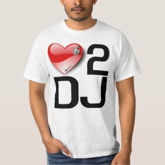 LOVE TO DJ  T-Shirt