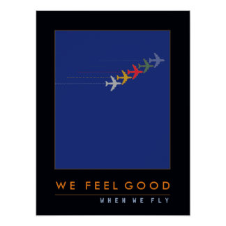 love to fly, air planes poster